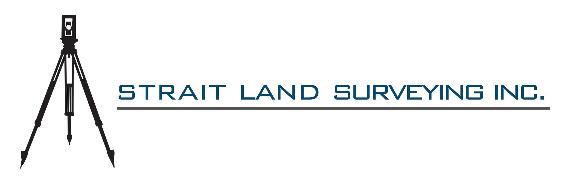 Strait Land Surverying Logo